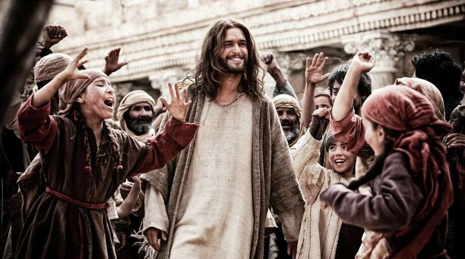 """""""Son of God""""(2014)Total earnings: $67,800,064Starring: Diogo Morgado, Darwin ShawPlot: John, the last surviving disciple, narrates the story of Jesus while he is living in exile. Photo: Casey Crafford / 20th Century Fox"""
