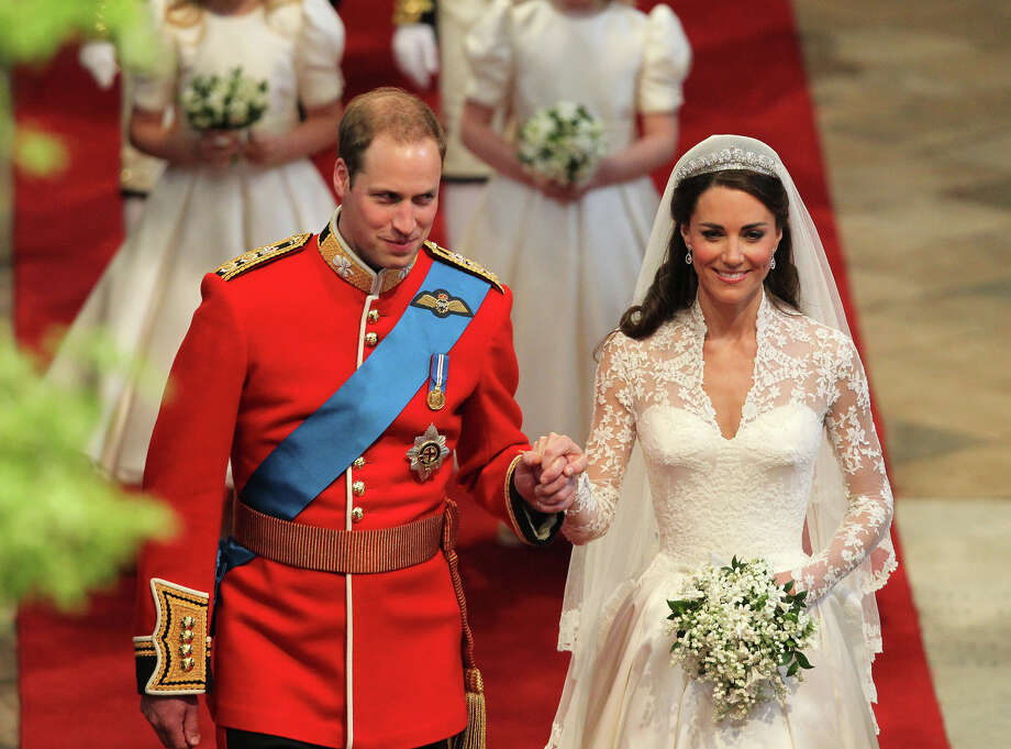 Prince William and Kate Middleton were married on April 29, 2011, just a few days before Osama bin Laden was killed.   Photo: David Jones, Pool