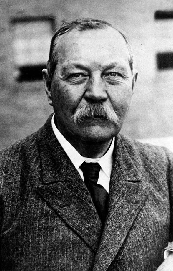 Basketball was invented in 1891, a few years after Sherlock Holmes (written by Sir Arthur Conan Doyle, pictured above) was first published.  Photo: AP  / AP