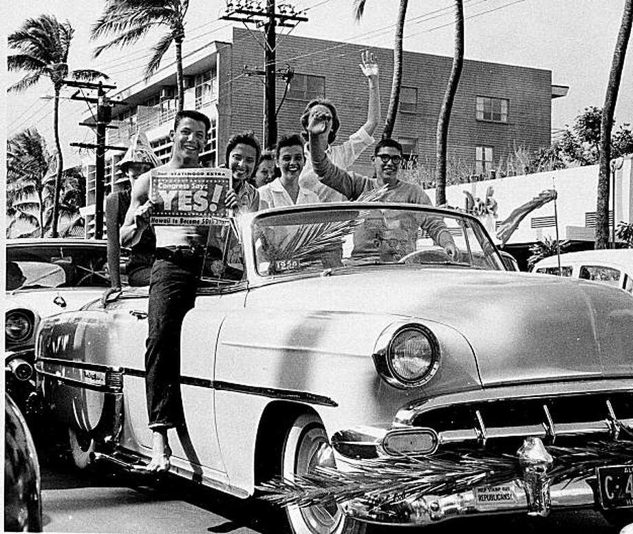 Hawaii became a state in 1959, the same year as the first Daytona 500 race. Photo: AP