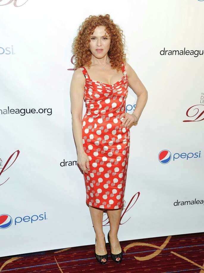 Actress Bernadette Peters arrives at the 79th Annual Drama League awards at the Marriott Marquis Times Square on Friday, May 17, 2013 in New York. (Photo by Evan Agostini/Invision/AP) Photo: Evan Agostini / Invision