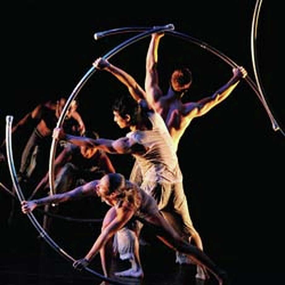 The Pilobolus Dance Theater comes to Fairfield University's Quick Center this weekend with two performances. Photo: Contributed Photo / Fairfield Citizen