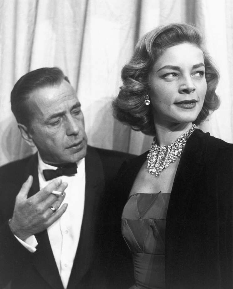 Humphrey Bogart and Lauren Bacall in 1955. Photo: Michael Ochs Archives