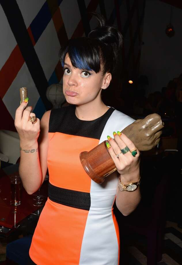 Lily Allen attends the after party for the NME Awards at Sketch on February 26, 2014 in London, England. Photo: David M. Benett, Getty Images