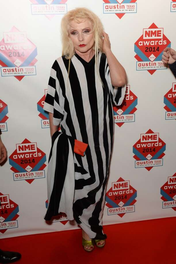 Debbie Harry attends the annual NME Awards at Brixton Academy on February 26, 2014 in London, England. Photo: Dave J Hogan, Getty Images