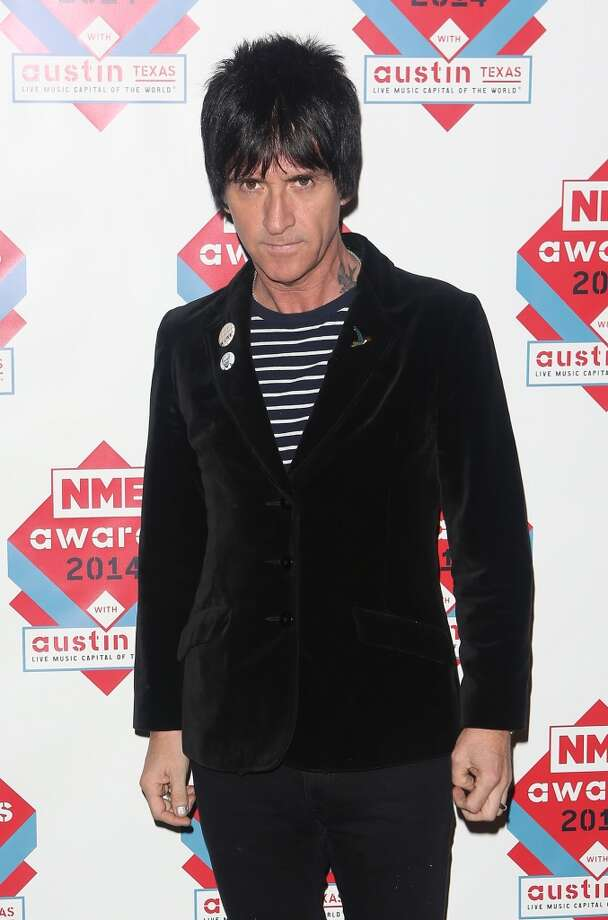 Johnny Marr attends the annual NME Awards at Brixton Academy on February 26, 2014 in London, England. Photo: Tim P. Whitby, Getty Images