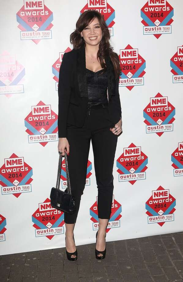 Daisy Lowe attends the annual NME Awards at Brixton Academy on February 26, 2014 in London, England. Photo: Tim P. Whitby, Getty Images