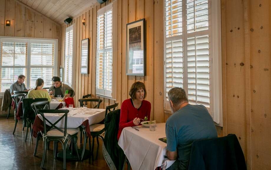 Diners enjoy lunch at 1226 Washington in Calistoga, Calif., on February 14th, 2014. Photo: Special To The Chronicle