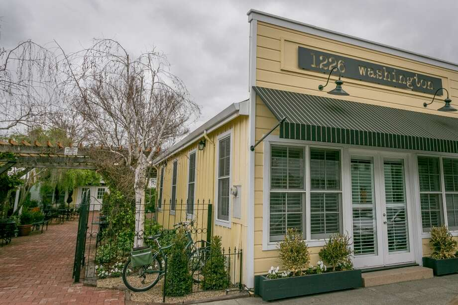 The exterior of 1226 Washington in Calistoga, Calif., is seen on February 14th, 2014. Photo: Special To The Chronicle