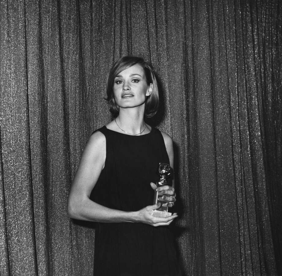 "American actress Jessica Lange at the 34th Golden Globe Awards, held at the Beverly Hilton Hotel in Beverly Hills on January 29, 1977. She  won the Best Acting Debut in a Motion Picture (Female) award for her role in ""King Kong."" Photo: Frank Edwards, Getty Images"