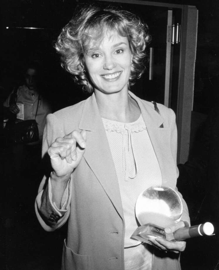 "Jessica Lange during American Film Institute's Gala Fundraiser for ""The Decade of Preservation"" at Beverly Hilton Hotel in Beverly Hills, CA, United States, 1983. Photo: Ron Galella, Ltd., WireImage"
