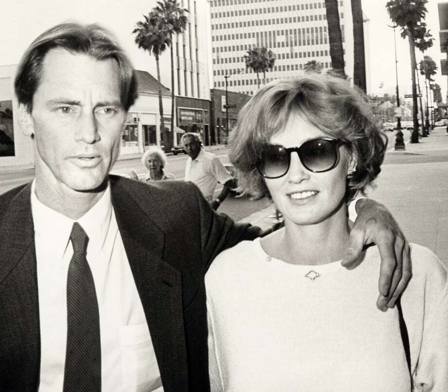 "Sam Shepard and Jessica Lange during ""The Natural"" Los Angeles Premiere at Samuel Goldwyn Theater in Beverly Hills, 1984. Photo: Ron Galella, WireImage"