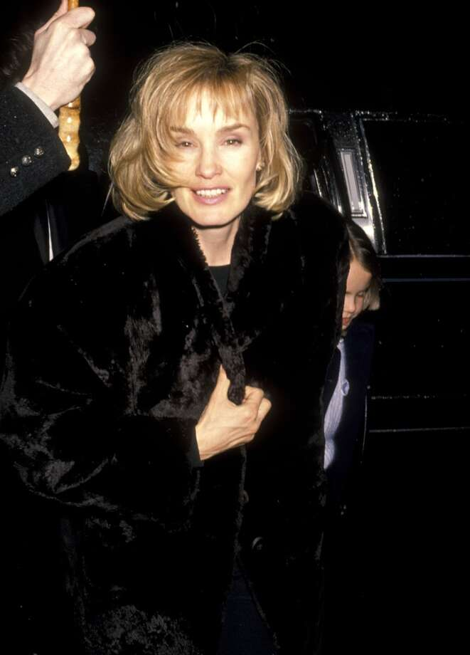 Jessica Lange and daughter Alexandra Baryshnikov on January 29, 1990. Photo: Ron Galella, WireImage