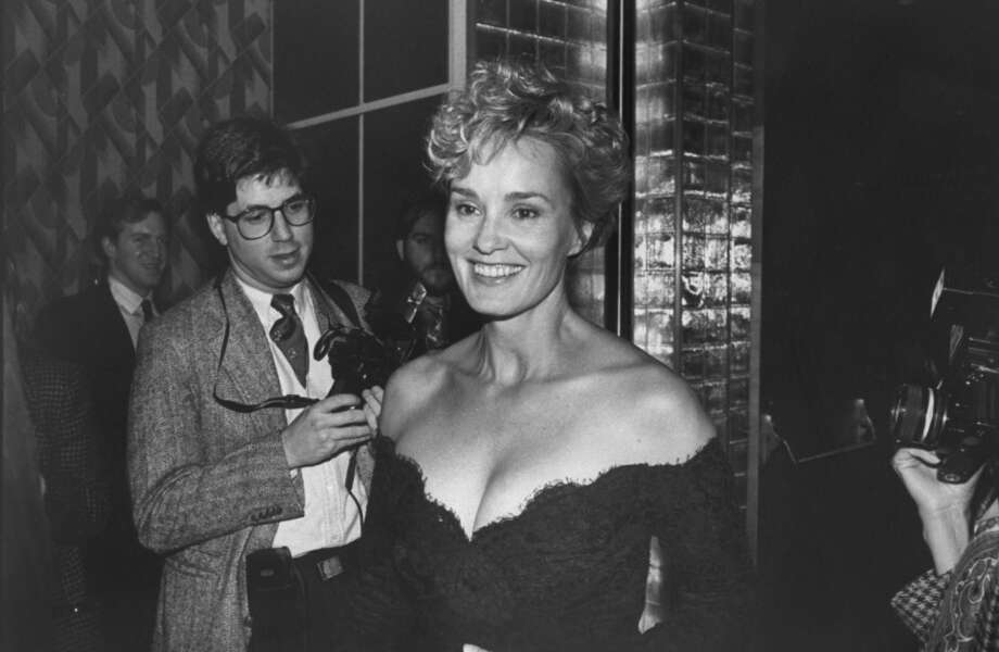 Portrait of actress Jessica Lange on her way to the NY Film Critics Awards in 1991. Photo: Robin Platzer, Time & Life Pictures/Getty Image