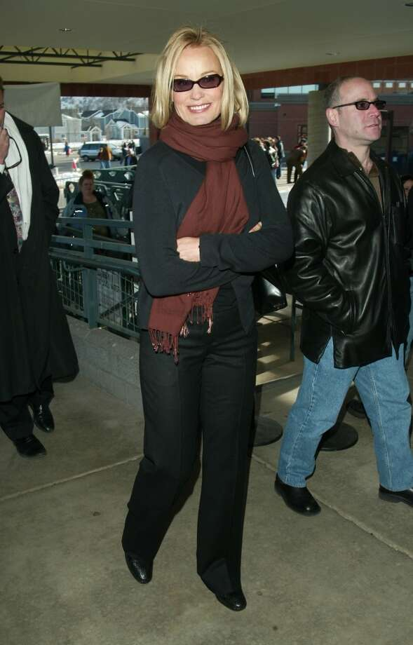"Jessica Lange arrives at the ""Normal"" screening during the 2003 Sundance Film Festival in Park City, Utah,  January 21, 2003. Photo: Evan Agostini, Getty Images"