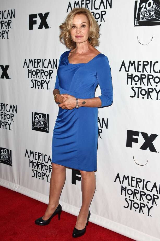 "Actress Jessica Lange arrives at The Television Academy's special screening of ""American Horror Story""  on April 18, 2012 in North Hollywood. Photo: Chelsea Lauren, WireImage"