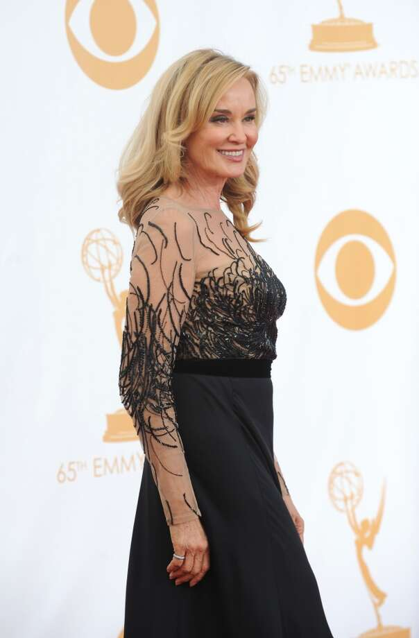 Jessica Lange on the red carpet for the 65th Primetime Emmy Awards, Sept. 22, 2013. Photo: CBS Photo Archive, CBS Via Getty Images