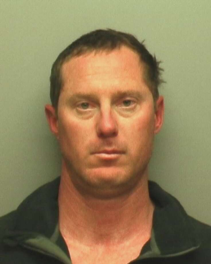 San Antonio police officer James Ferguson, seen in a Thursday Feb. 27, 2014 booking photo provided Thursday by the Hays County Sheriff Department, was arrested for driving while intoxicated, according to jail records. Photo: COURTESY / COURTESY OF THE HAYS COUNTY SHERIFF