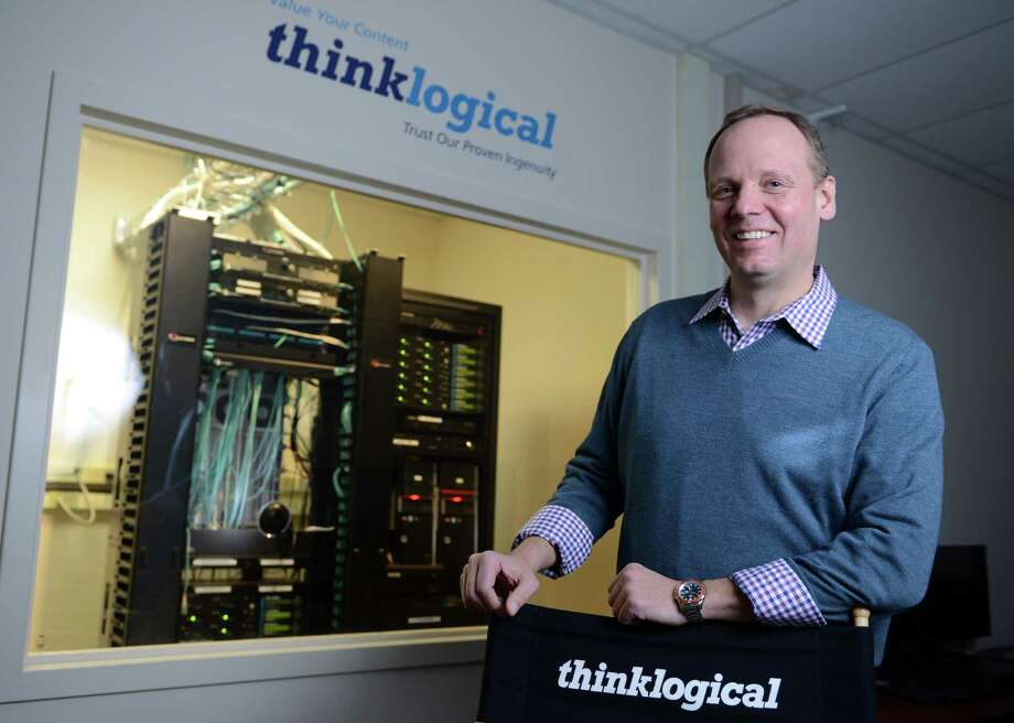 Thinklogical President and CEO Joe Pajer poses for a photo Wednesday, Feb. 26, 2014, at the tech company's Milford headquarters. Photo: Autumn Driscoll / Connecticut Post