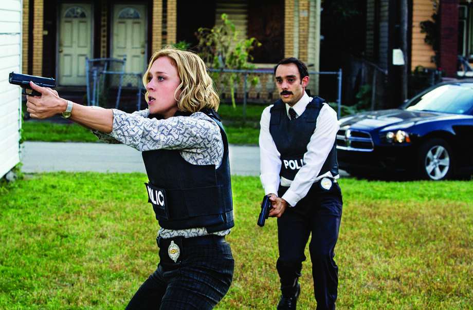 "Chloë Sevigny is intriguing as Detective Catherine Jensen in ""Those Who Kill."" Omid Abtahi co-stars. Photo: A&E / San Antonio Express-News"