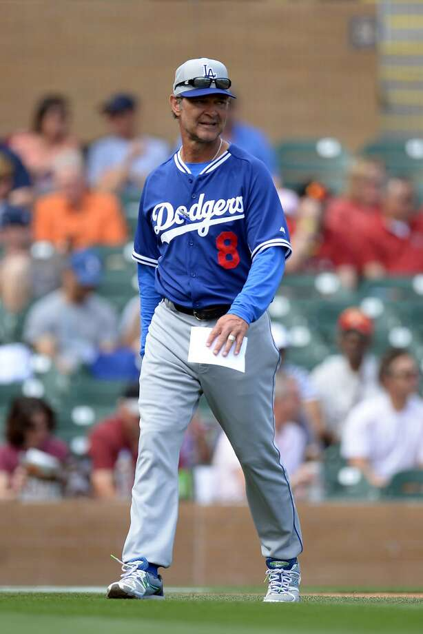 Dodgers manager Don Mattingly has a talented roster, but there are questions about some of the team's key players. Photo: Joe Camporeale, Reuters