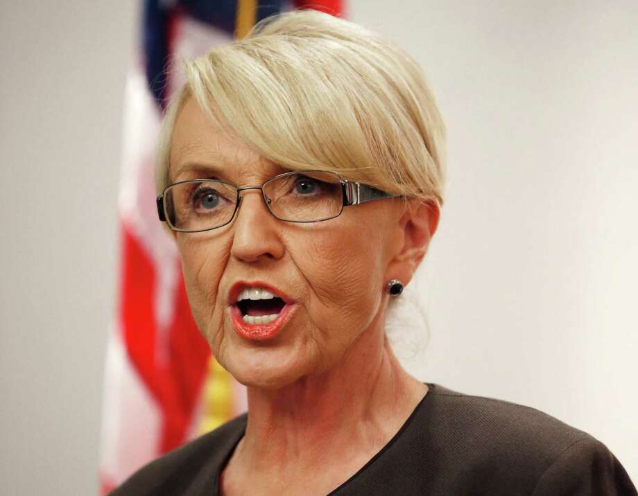 Arizona Republican Gov. Jan Brewer vetoed a bill that would have allowed business owners to deny services to gay people. Photo: Ross D. Franklin, Associated Press / AP