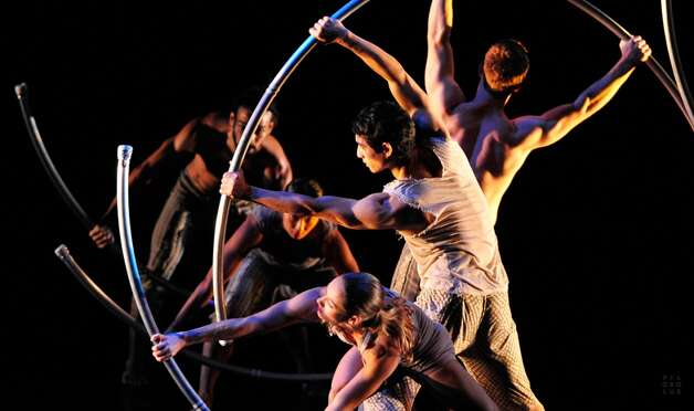 Pilobolus Dance Theater performs at Fairfield University's Regina A. Quick Center for the Performing Arts, 1073 N. Benson Road, on Saturday, March 1 at 8 p.m. and Sunday, March 2 at 3 p.m. $50, $45, $35. 203-254-4010, quickcenter.com.