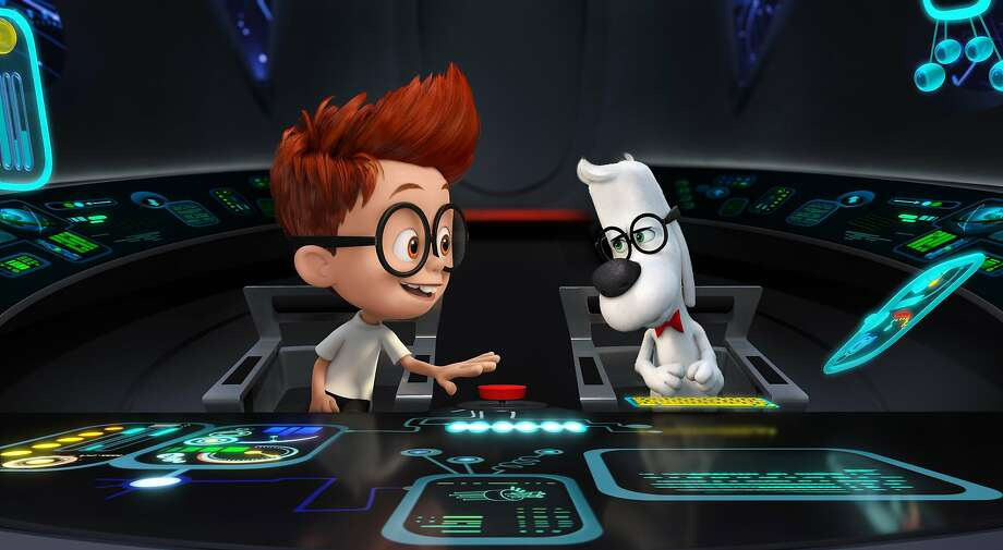 "Time travel is key in ""Mr. Peabody & Sherman."" Photo: Associated Press"