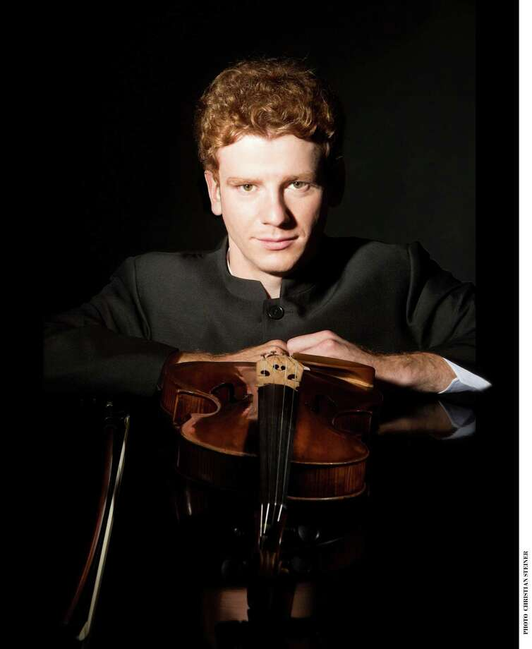 Veit Hertenstein, of Switzerland, performs Saturday afternoon, March 8, in a free recital as part of Music for Youth's series of Young Persons' Concerts in Fairfield. Photo: Contributed Photo / Connecticut Post Contributed
