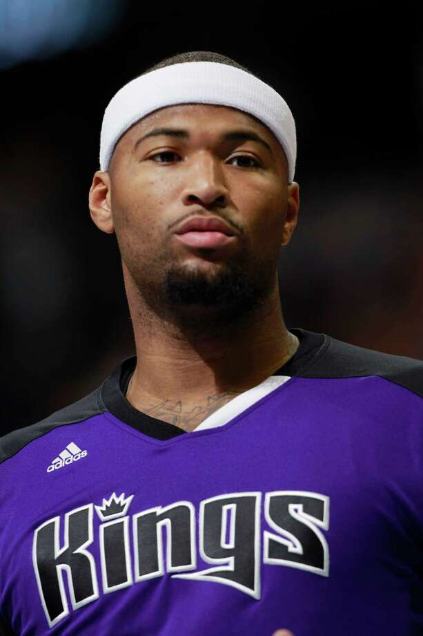 Sacramento Kings center DeMarcus Cousins warms up before facing the Denver Nuggets in the first quarter of an NBA basketball game in Denver on Sunday, Feb. 23, 2014. (AP Photo/David Zalubowski) Photo: David Zalubowski, Stf / AP