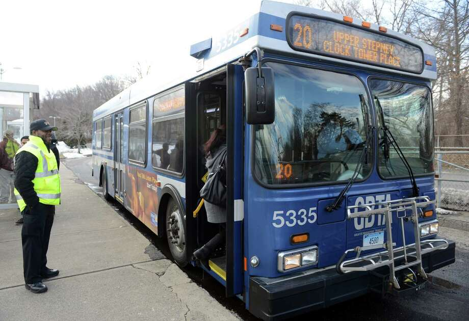 The Greater Bridgeport Transit Authority's new Route 20 provides service to Monroe via Rt. 111 and Rt. 25. Photo: Autumn Driscoll / Connecticut Post