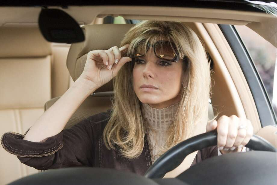 """Sandra Bullock in """"The Blind Side"""" -- totally fine, but not in the year of Streep in JULIE & JULIA. Photo: Ralph Nelson, Warner Bros. Pictures"""