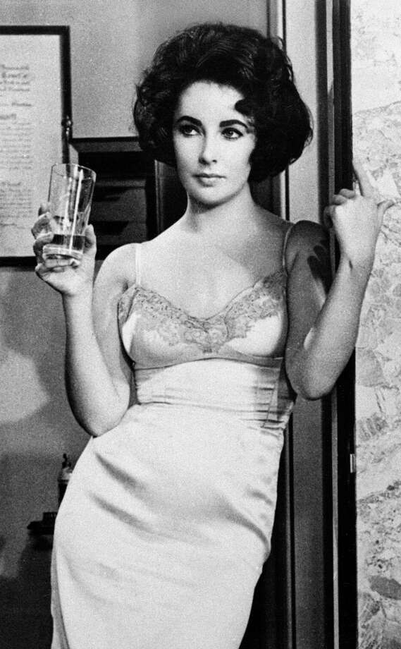 """Elizabeth Taylor in """"Butterfield 8"""" in 1960.  She was fun, but that wasn't a good choice. Photo: AP"""