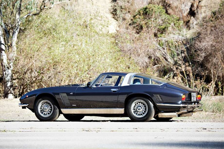 1973 Iso Grifo Series II. Expected bidding, $300,000 to $400,000. Photo credit: Gooding & Co./Brian Henniker