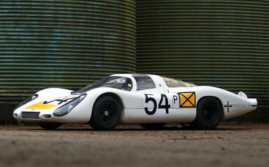 1968 Porsche 907 Longtail, one of the cars to be sold at the Amelia Island auction in Florida on March 7. Expected bidding, $3.5 million to $5 million.