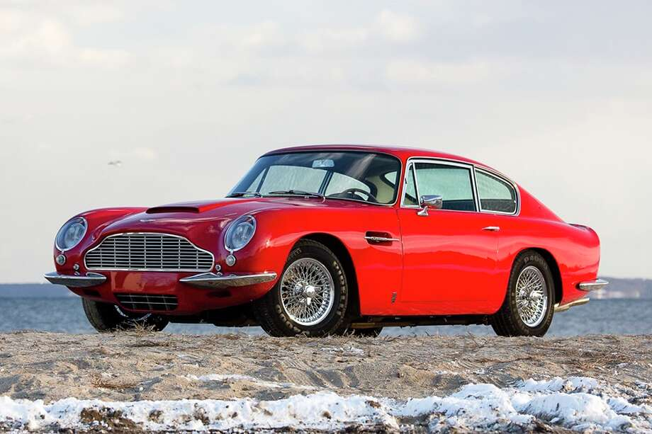 1966 Aston Martin DB6 Vantage. Expected bidding, $550,000 to $650,000. Photo credit: Gooding & Co./Chip Riegel Photo: Chip Riegel, Chip Riegel/www.chipriegel.com / ©2014 Chip Riegel / www.chipriegel.com