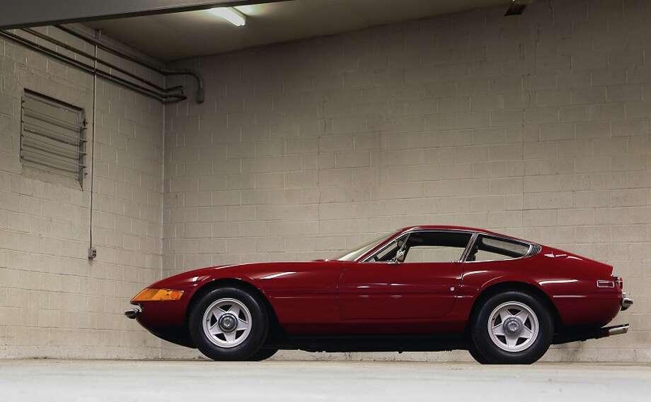 1972 Ferrari Daytona GTB/4. Expected bidding, $750,000 to $825,000. Photo credit: Gooding & Co./Mathieu Heurtault