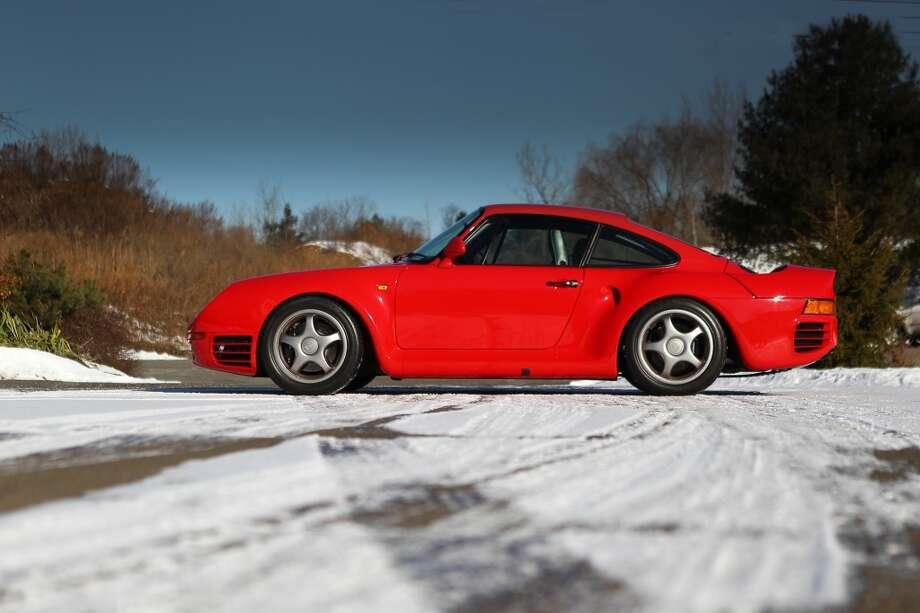 1988 Porsche 959 Sport. Expected bidding, $900,000 to $1.2 million. Photo credit: Gooding & Co./Mathieu Heurtault