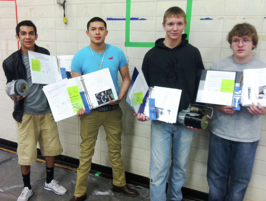 Four do well at Auto DSkills Competition Photo by JISD