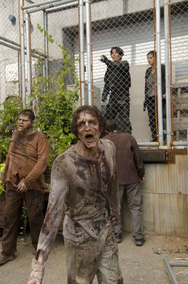 """The Walking Dead""'s 4th season shuffles away on Sunday, March 30th at 8 p.m. on AMC Photo: Gene Page/AMC, AMC"