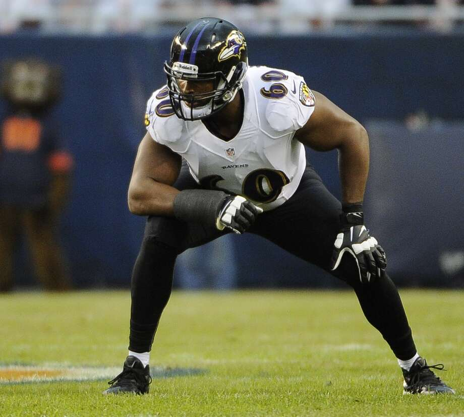 Eugene Monroe 2013 team: Baltimore Ravens Age: 26 2013: 15 games Photo: David Banks, Getty Images