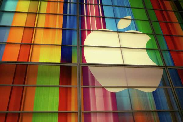 "(FILES) The Apple logo is seen in this September 11, 2012 file photo at the Yerba Buena Center for Arts in San Francisco. Anticipation built October 23, 2012 as Apple prepared to unwrap its ""iPad Mini,"" launching a foray into the crowded market of smaller tablet computers dominated by Amazon, Google, and Samsung. As is its style, Apple remained mute regarding its exact plans but took the unusual step of saying it would livestream the event, from 1700 GMT in San Jose in the heart of Silicon Valley -- albeit only on its own products. Invitations to the first major product launch since the death of Apple's visionary co-founder Steve Jobs last year and his replacement by Tim Cook bore only time and location details along with the message: ""We've got a little more to show you."" However, rampant rumor fueled by industry insiders foretold of the arrival of an ""iPad Mini"" priced from $249 to $399 with a screen measuring 7.85 inches (20 centimeters) diagonally across. AFP PHOTO / Kimihiro HOSHINO / FILESKIMIHIRO HOSHINO/AFP/Getty Images"
