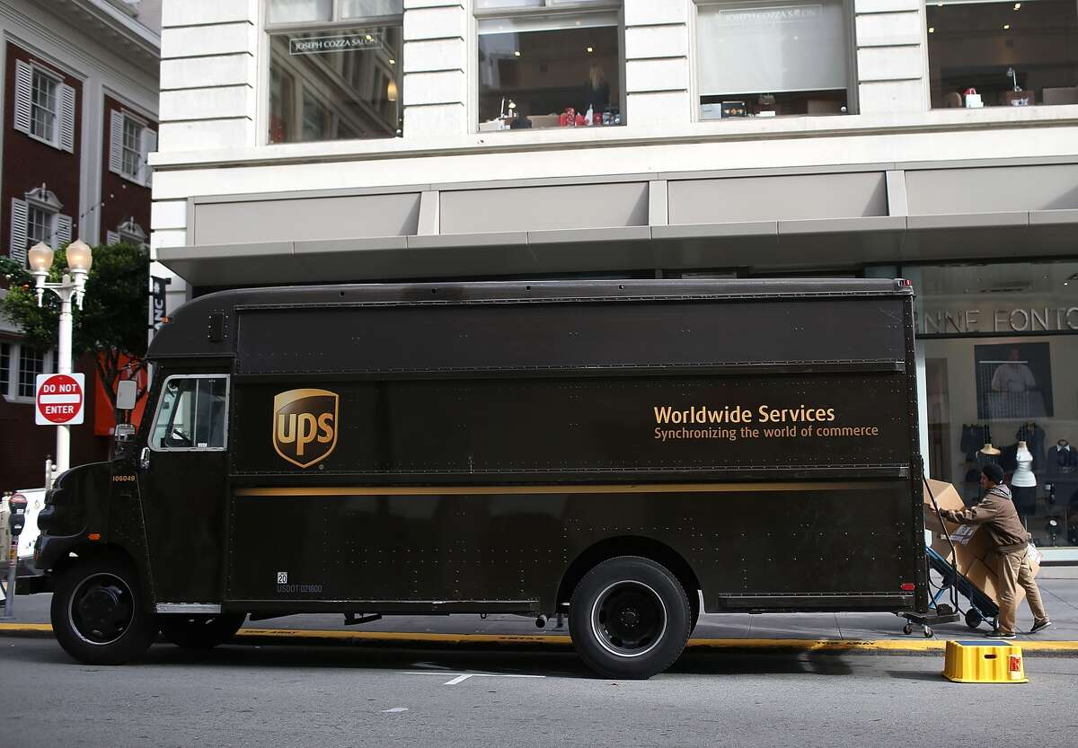 A UPS driver came to the rescue of a woman Tuesday.
