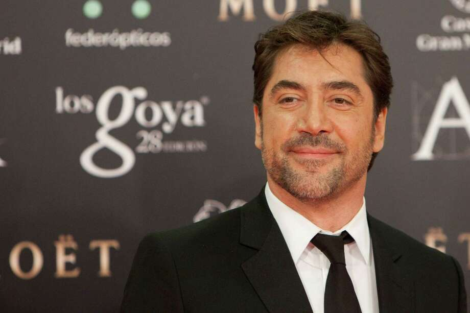 Spanish actor Javier Bardem poses for photographers on the red carpet before the Goya Film Awards Ceremony in Madrid, Spain. Sunday Feb. 09, 2014. (AP Photo/Abraham Caro Marin) Photo: Abraham Caro Marin, STR / AP