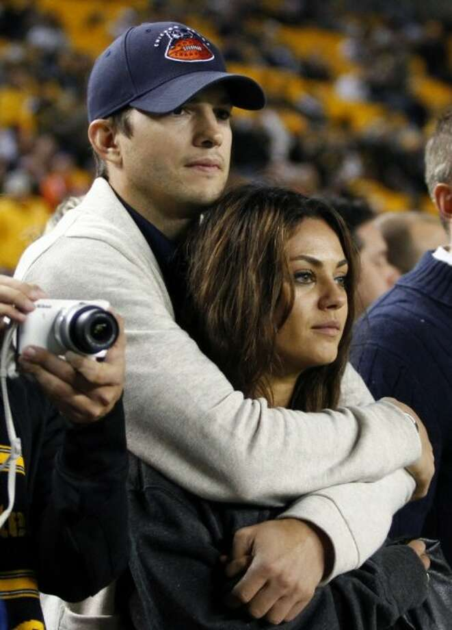 Ashton Kutcher and Mila KunisAshton Kutcher and Mila Kunis announced their engagement. Who  didn't see this coming? We've been secretly hoping this couple would  get together since their days as Jackie and Kelso on 'That 70's Show.'  While our on-screen to off-screen love fantasies have been fulfilled  with this couple, check out the other dynamic duos who played love  interests both for and behind the camera.