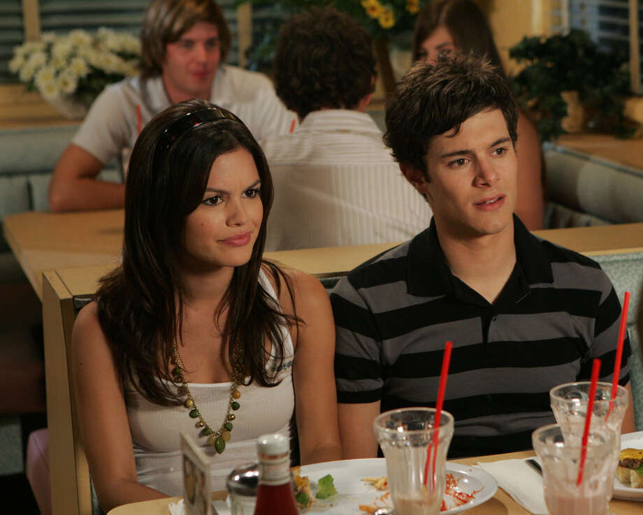 Here, Rachel Bilson as Summer and Adam Brody as Seth in a scene from 'The O.C.' Photo: AP / AP