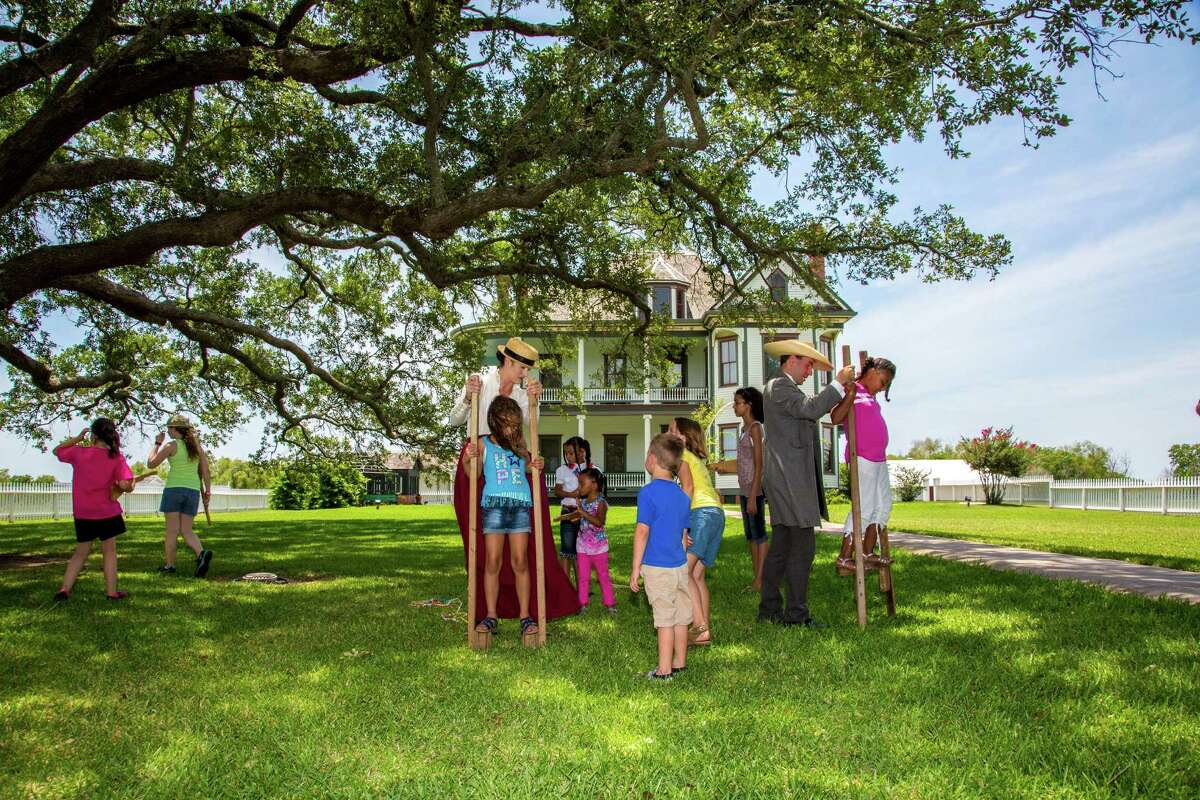 Labor Day Backyard Barbecue at George Ranch Historical Park Time: 9 a.m. to 5 p.m. Location: The George Ranch House Price: $4-$12 for children, and $15 for adults Event link