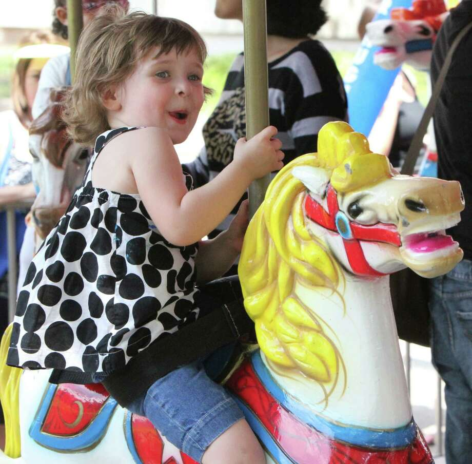 The Houston Children's Festival offers a variety of fun activities.