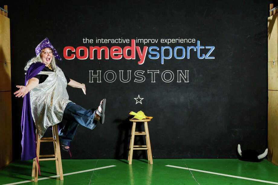 Dianah Dulany, owner of ComedySportz Arena, started out in standup in New York. Then she found ComedySportz in Milwaukee and never looked back. Her Houston club, in City Centre, is open Fridays and Saturdays and has family-friendly and adult shows. Photo: Michael Paulsen, Staff / © 2014 Houston Chronicle