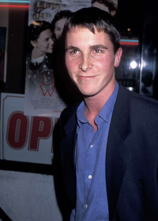 "Christian Bale already turned 40, on Jan. 30. He's pictured in 1994 at the premiere of ""Little Women.""  Photo: Ron Galella, Ltd., Getty Images / 1994 Ron Galella, Ltd."